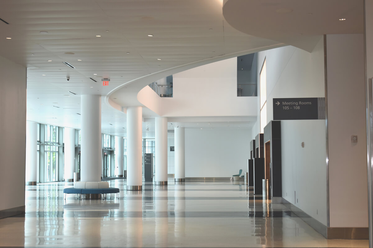 Miami Beach Convention Center West Lobby